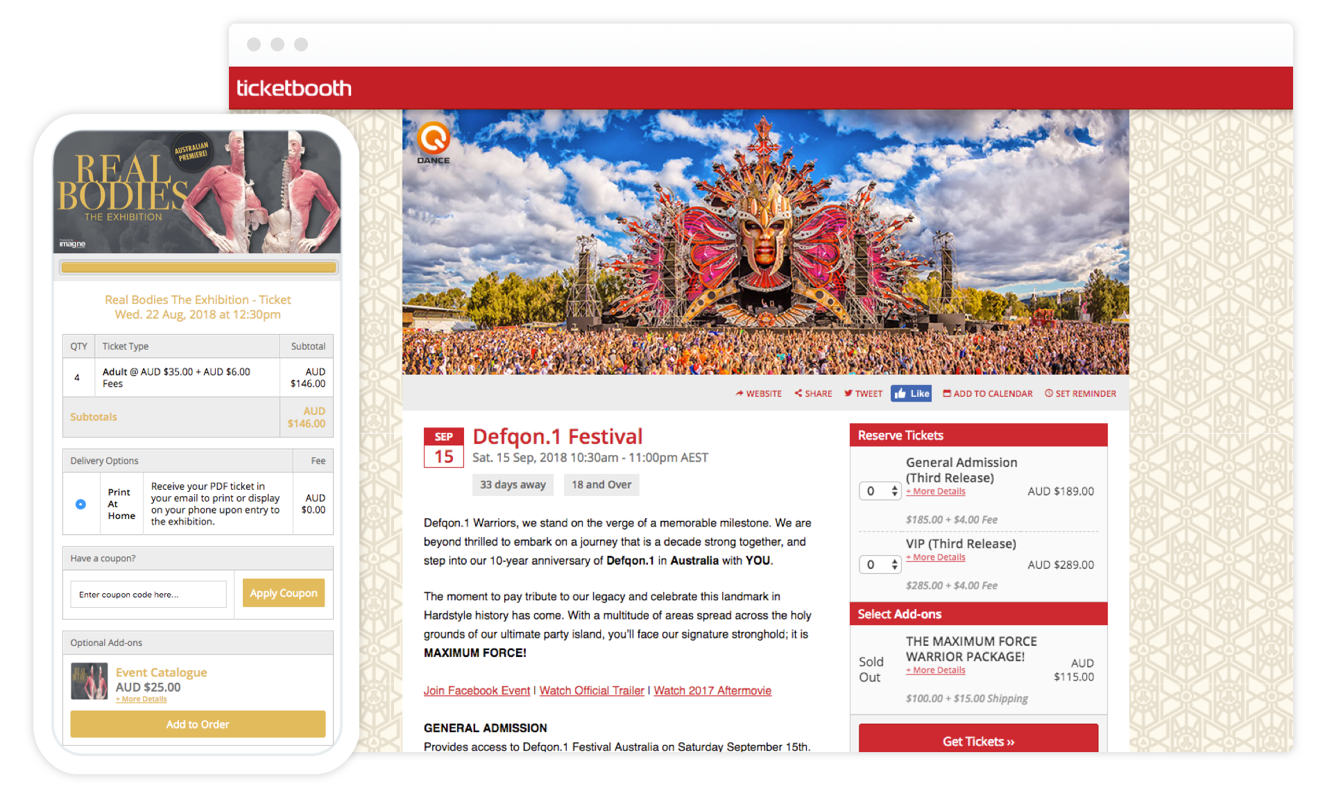 simple online ticket sales australia s best ticketing system