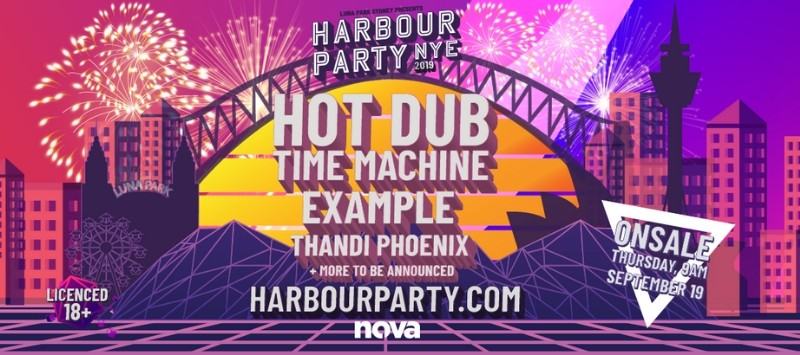 NYE Harbour Party